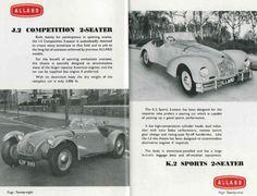 Annuaire 1952-1953 Allard Motor Company