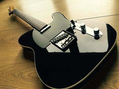 Music Guitar, Cool Guitar, Acoustic Guitar, Ukulele, Fender Telecaster Black, Telecaster Guitar, Telecaster Custom, Unique Guitars, Custom Guitars