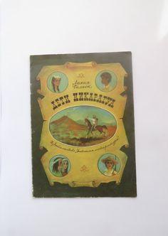 "Soviet children's book ""The children of Nicaragua"". Soviet kid's book. Russian vintage book. Soviet vintage. USSR 1980s"