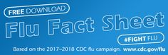 Help boost your flu vaccine promotion this year. The Flu Facts 2017–2018 fact sheet is based on the 2017–2018 CDC flu campaign. This two-sided handout gives the public clear and understandable information about the flu virus, flu vaccinations, and ways to avoid catching the flu.