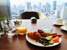 新規開業に心浮かれる朝食ビュッフェザプリンスギャラリー東京紀尾井町