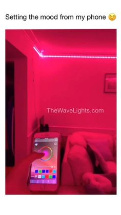 Let your phone set the mood. off this week only💫 diy diy room decor decor. - - Let your phone set the mood. off this week only💫 diy diy room decor decor do it Cute Room Decor, Teen Room Decor, Room Decor Bedroom, Bedroom Ideas, Teen Bed Room Ideas, Ikea Bedroom, Bedroom Wardrobe, Bedroom Green, Wood Bedroom