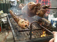 Nothing like Lamb on some charcoal and some Kokoretsi