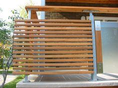 Différents murs intimités, dites moi lesquels vous préférez et je vais personnaliser votre terrasse!!!
