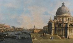 Giovanni Antonio Canal, called Canaletto (Venice 1697 – 1768), Venice, The entrance to the Grand Canal looking east. Photo Sotheby's