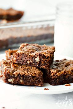With my Mom's Killer Caramel Brownies, you'll think you've died and gone to dessert heaven. Hands down the best brownies you have ever tasted.