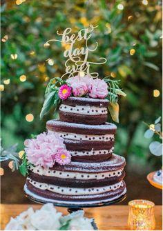 El #estilo rústico encaja a la perfección con la romántica #temporada del otoño. #Wedding #Cake #Food #Boda #