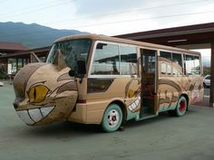 Real Totoro Catbuses!