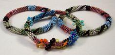 Bead Crochet Pattern  Shapes & Patterns Bracelet by CandiceSexton, $7.00