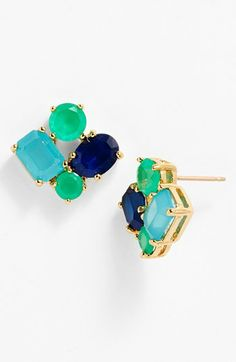 kate spade new york cluster earrings | Nordstrom