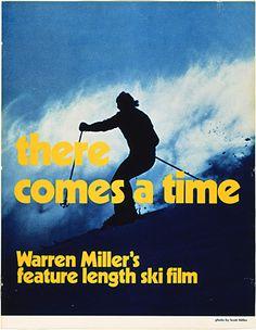 warren miller ski movie poster