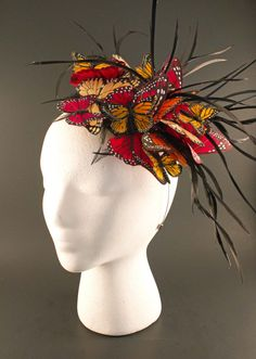 Butterflies - so popular for fascinators now