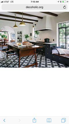 Spanish Bungalow, Kitchen Redo, Pergola, Outdoor Structures, Patio, Outdoor Decor, Table, Furniture, Home Decor