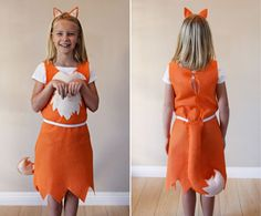 Fox costume and tutorial