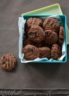 Piknikre tervezve: Csokis-mogyorós zabkeksz - édesem Biscotti, Cereal, Picnic, Paleo, Food And Drink, Gluten Free, Sweets, Diet, Snacks