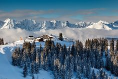 4. Megeve, France - The magic of Megeve touches all generations, from the beautiful traditional style town to the stunning tree lined runs and the spectacular views of Mont Blanc. It is difficult to rival the beauty of Megeve's surrounding landscapes. From its origins as France's equivalent to Switzerland's elegant St. Moritz, there is no surprise that this is the playground for the rich and the famous. Read More: http://www.igluski.com/blog/2014/07/03/top-5-picturesque-ski-resorts