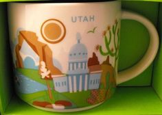 Starbucks City Mug You Are Here In Utah
