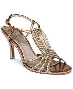 33f54870b416 Adrianna Papell Megan Evening Sandals - Shoes - Macy s Evening Sandals