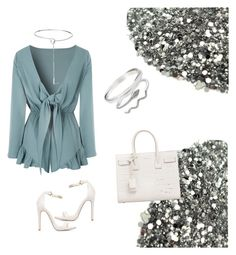 """""""Untitled #114"""" by laylayanahi ❤ liked on Polyvore featuring Glamorous, Eddie Borgo and Yves Saint Laurent"""
