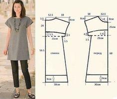 De 10 vestidos simples e impresionantes con los patrones - las manos