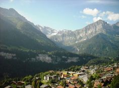Champery, Switzerland .  MTB. Concussion. No more MTB in Suisse!