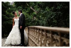 A Central Park Wedding...and a beautiful gown and dazzling groom