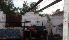 <p>Camargo, Chih.- Durante la tarde de ayer, una fuerte lluvia cayó en la comunidad de Maravillas, informaron habitantes del sector lo que originó