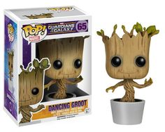 Marvel Dancing Groot Bobble Head.