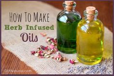 How to Make an Easy Herbal Oil Infusion : Herbal oil infusions allow you to create flavoured olive oils for use in cooking, as massage oils, bath oils, moisturizers, insect repellents, and more!