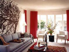A Patriotic Palette: Red, White & Blue Interiors