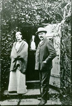 Danish painters  Anna Brøndum Ancher (1859-1935) and Michael Ancher (1849-1927) - both associated with the 'Skagen Painters', an artists' colony in the very north of Jutland.