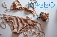 Bikini Uncinetto di KolloReDesign su Etsy