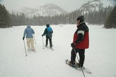 Snow Shoeing in Rocky Mountain National Park