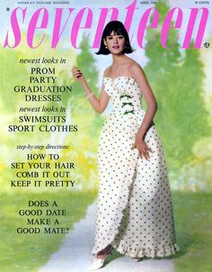 Cover of 'Seventeen', April 1964