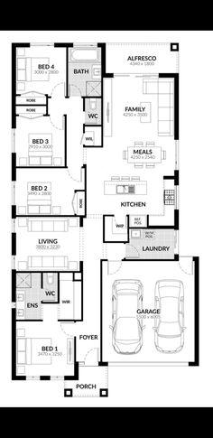 Floor Plans, Flooring, How To Plan, Wood Flooring, Floor Plan Drawing, Floor, House Floor Plans