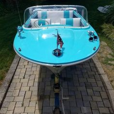 The All Inclusive Luxury Motor Yacht Charter Classic Boats For Sale, Outboard Motors For Sale, Vintage Boats, Vintage Surf, Runabout Boat, Boat Restoration, Float Your Boat, Paddle Boat, Old Boats