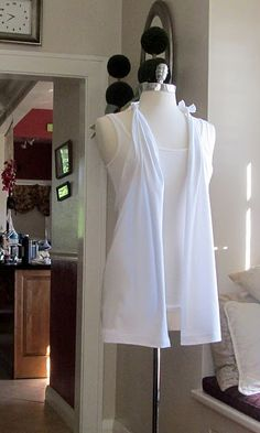 So making this tomorrow. It only uses a white t-shirt