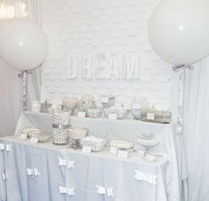 The TomKat Studio: Dreamy White Candy Table at the ALT Cricut Lounge - Cricut Project