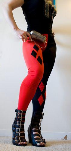 Harley Quinn leggings.