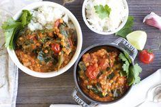 Eiweißreich und sättigend: Linsen-Kokos-Curry mit Blattspinat (vegan) – NaturallyGood
