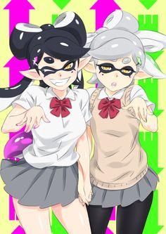Callie & Marie   Splatoon