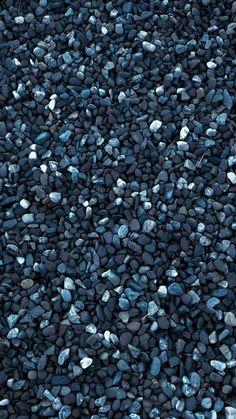 Blue Pebbles iPhone wallpaper HD
