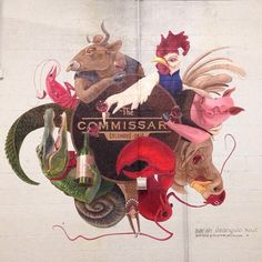 The Commissary - commercial kitchen collective in Columbus, Ohio.