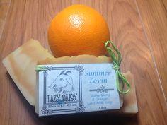 Orange & Ylang Ylang Goat Milk Soap