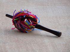 One last snow day - Crochetbug Scrap Yarn Crochet, Crochet Mat, Crochet Tools, Crochet Projects, Yarn Winder, Yarn Stash, Yarn Ball, Stitch Markers, Fancy