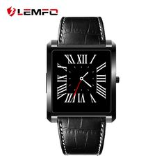 Cheap smart watch, Buy Quality wearable devices directly from China smart watch men Suppliers: LEMFO Smart Watch Men Women Wearable Devices Wrist Activity Trackers Heart Rate Monitor for IOS Android Phone Stylish Watches, Cool Watches, Watches For Men, Smartwatch, Square App, Ios Phone, Wearable Device, Android, Glow