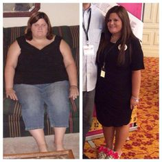 """I've watched Courtney become a beautiful butterfly. Her story never gets old.  Can't get enough of it.   Her pictures just don't do her justice. She is now a whole person smaller (96 pounds GONE!!)  A remarkable transformation!!!  This is a true testimony to the power of Skinny Fiber and determination!  """"Tonight I was going through some old pictures on my computer and couldn't believe what I found. I don't even remember taking this before picture because if I ever would've seen it, I ..."""