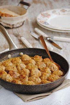 Cocinando con Neus: Albóndigas con salsa de almendras