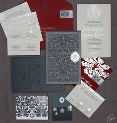 Jennifer & Jonathan :: Ceci Ornate Style :: Ceci Couture :: Luxury Wedding Invitations :: Ceci Wedding :: CECI New York