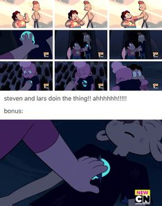 Steven Universe, SU, Lars's Head, post, Lars's evolution, tumblr